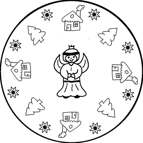Ausmalbilder -mandala-1