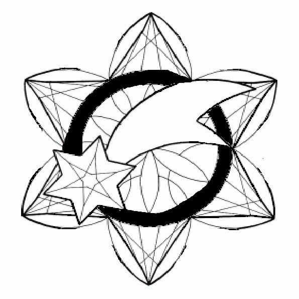 Ausmalbilder Weihnachten Mandala-2