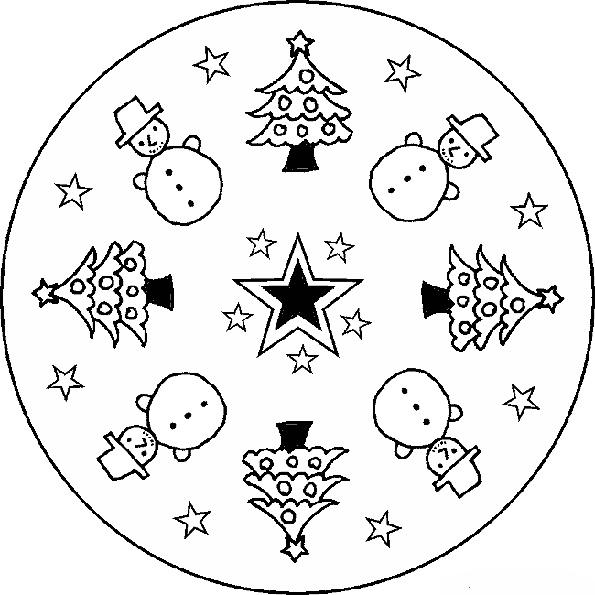 Ausmalbilder-Mandala-13