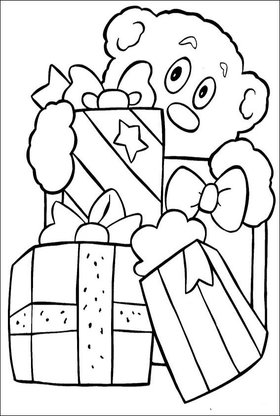 Ausmalbilder-Weihnachtsgeschenke-10
