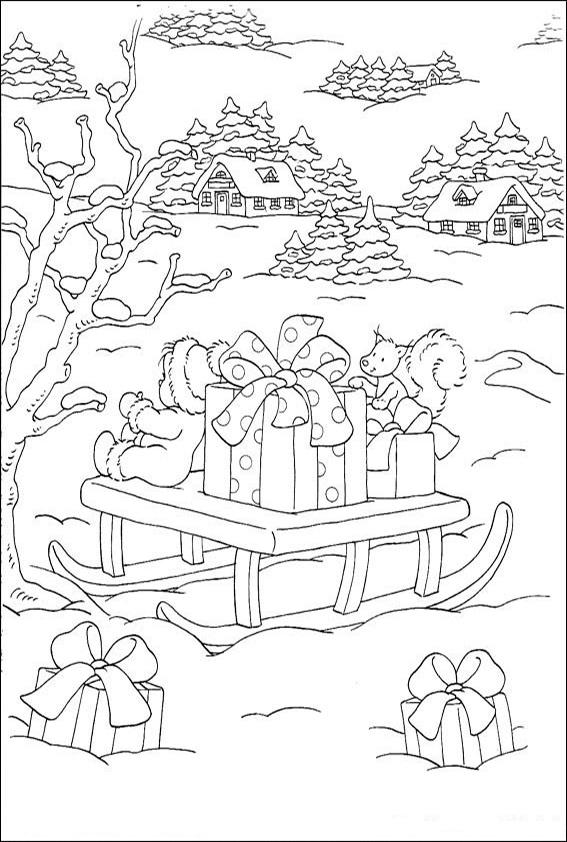 Ausmalbilder-Weihnachtsgeschenke-14