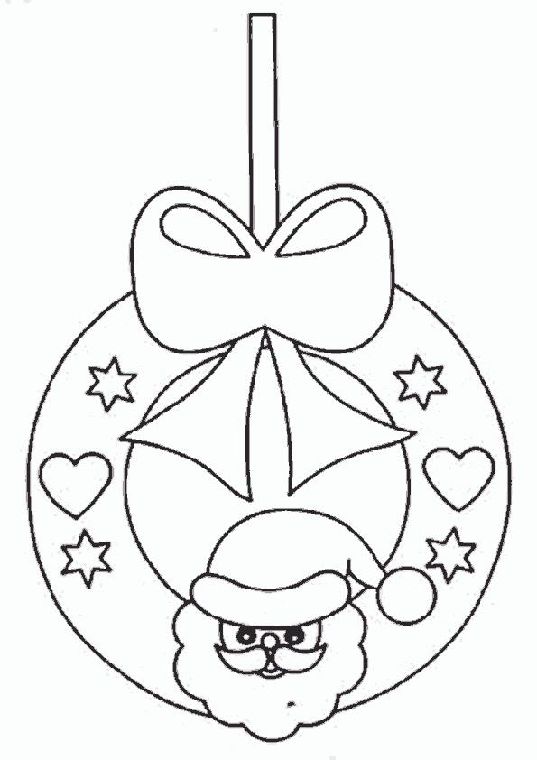 Ausmalbilder--Weihnachtsschmuck-1
