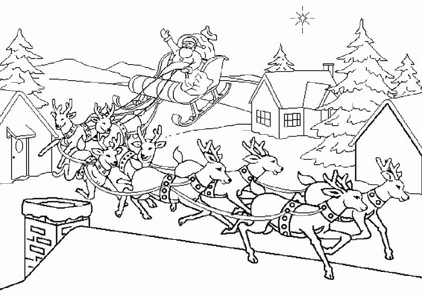 Ausmalbilder Nikolaus-14 | Ausmalbilder Weihnachten