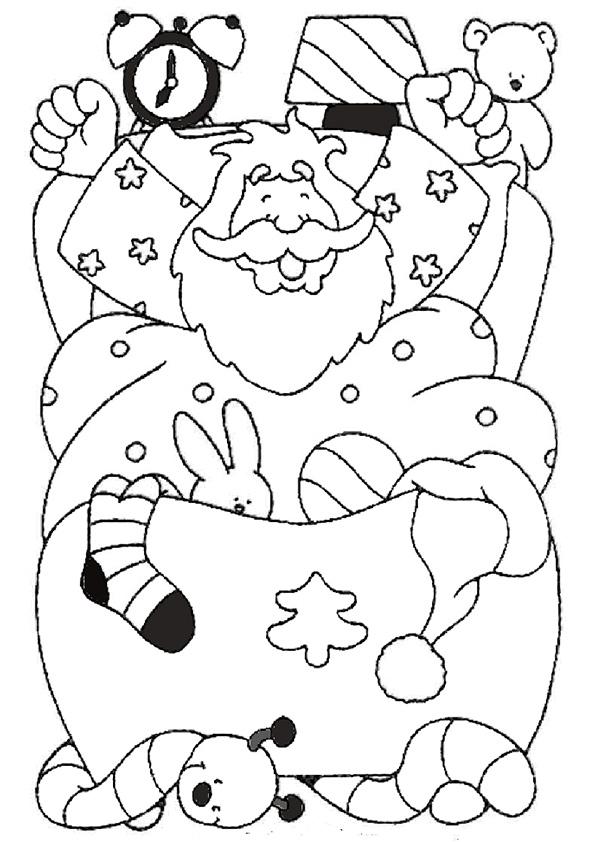 Ausmalbilder Nikolaus-50