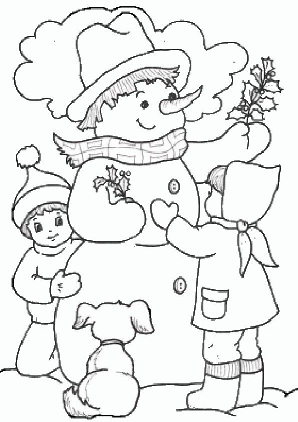 Ausmalbilder Schneemann 31 Ausmalbilder Weihnachten