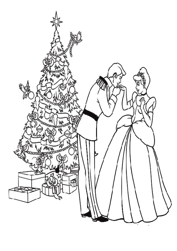 Ausmalbilder-Weihnachtsbaume-26