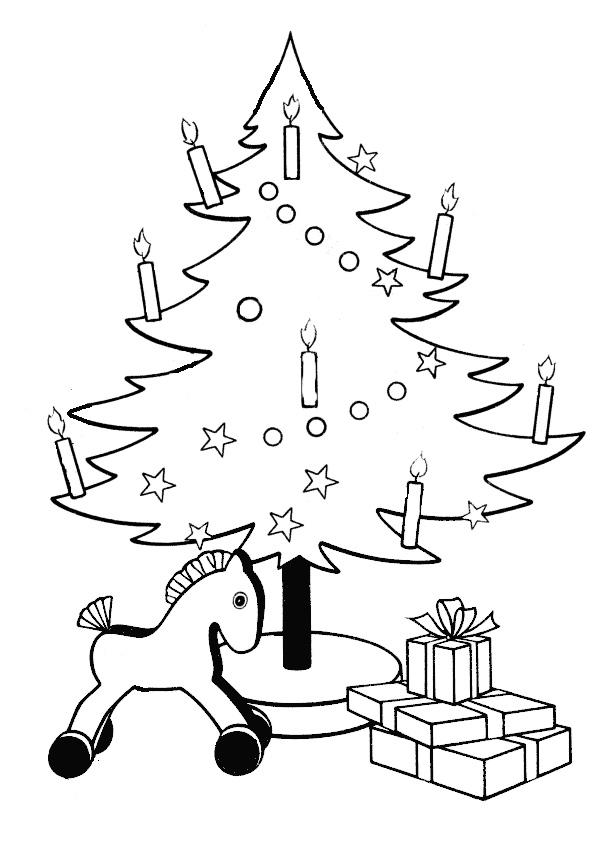 Ausmalbilder-Weihnachtsbaume-27