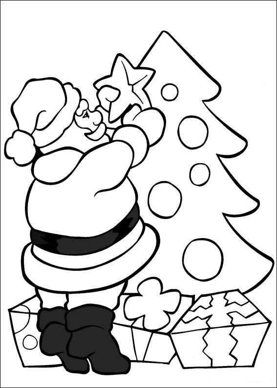 ausmalbilder weihnachtsbäume-35