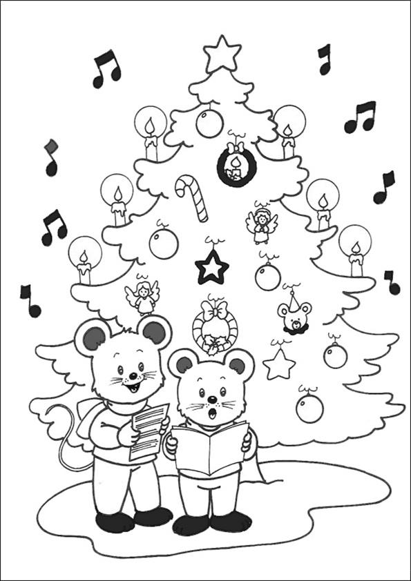 Ausmalbilder-Weihnachtsbaume-37