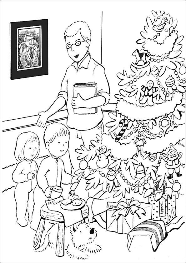 Ausmalbilder-Weihnachtsbaume-44