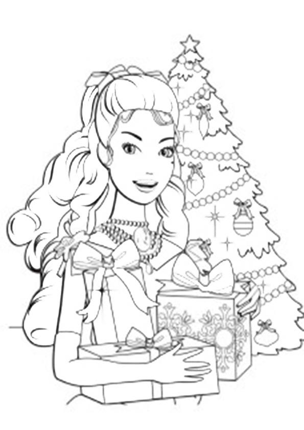 Ausmalbilder Weihnachtsbaume-48