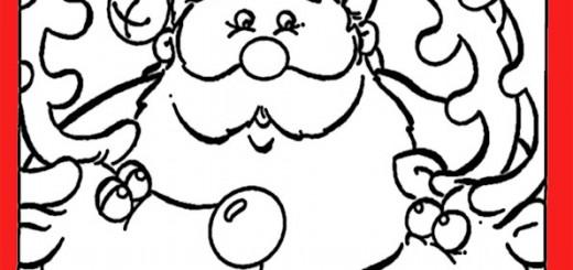 ausmalbilder weihnachtsmann-10