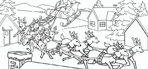 ausmalbilder weihnachtsmann-4