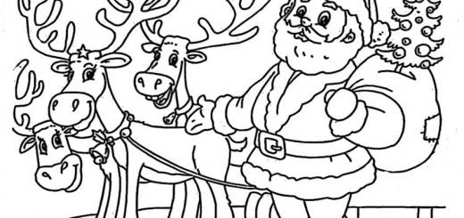 ausmalbilder weihnachtsmann-7
