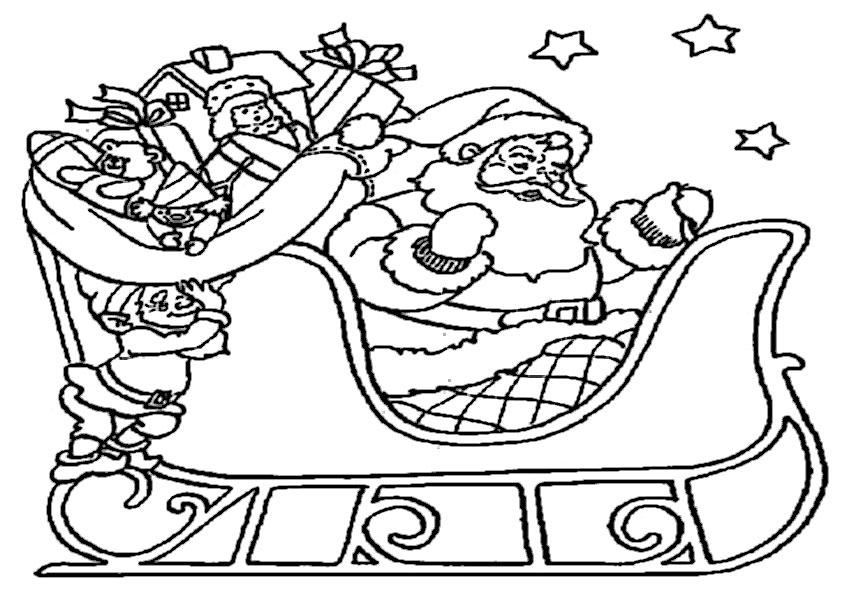 ausmalbilder  weihnachtsmann-8