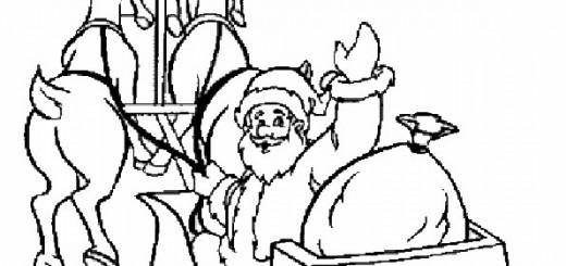 ausmalbilder weihnachtsmann-9