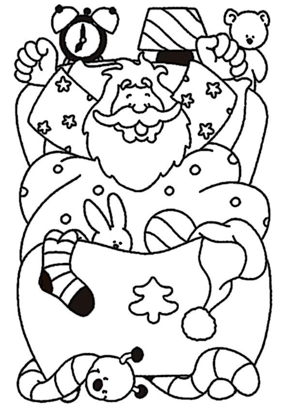 ausmalbilder  weihnachtsmann-12