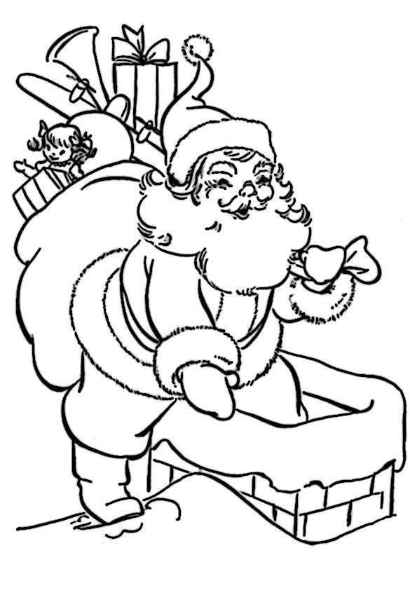 ausmalbilder  weihnachtsmann-16