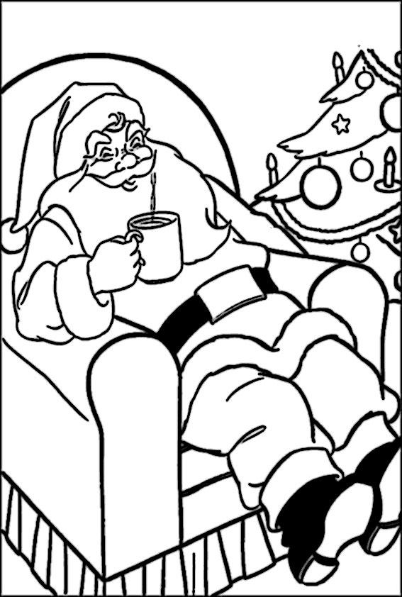 ausmalbilder  weihnachtsmann-17