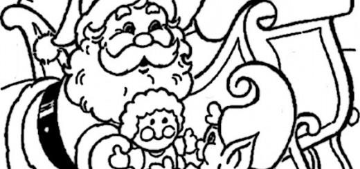 ausmalbilder weihnachtsmann-19