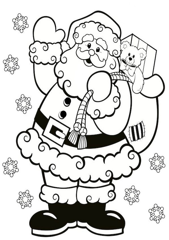 ausmalbilder weihnachtsmann-24