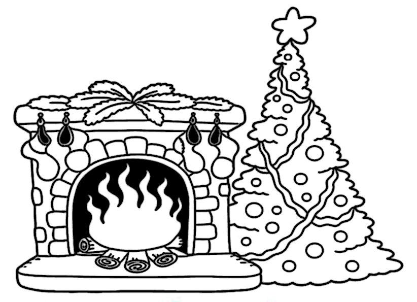 ausmalbilder weihnachtsbäume-51
