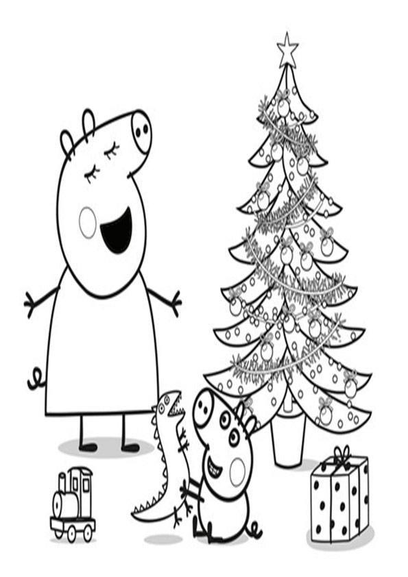 ausmalbilder weihnachtsbäume-52