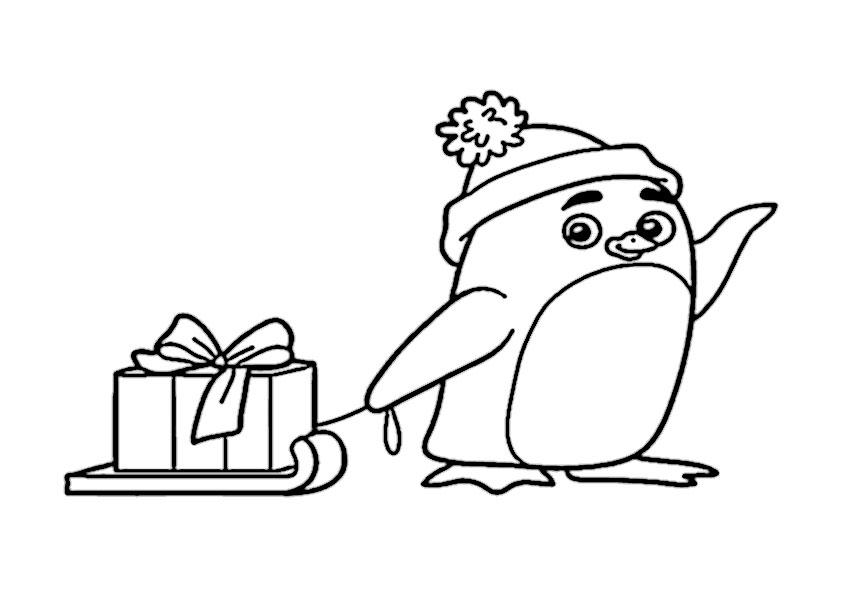 ausmalbilder  weihnahtsgeschenke-31