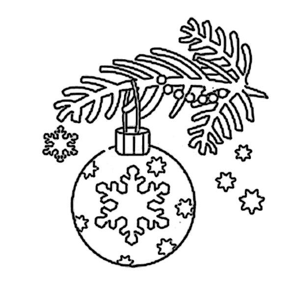 ausmalbilder  weihnachtsschmuck -31