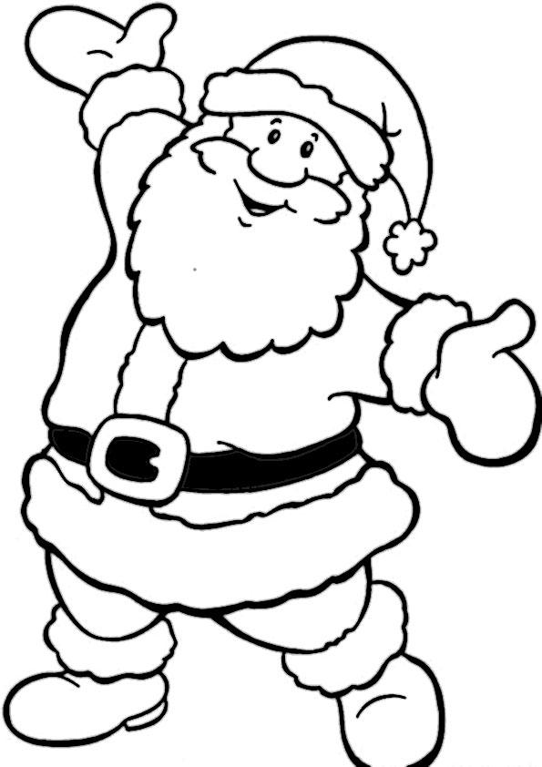 ausmalbilder  weihnachtsmann-27