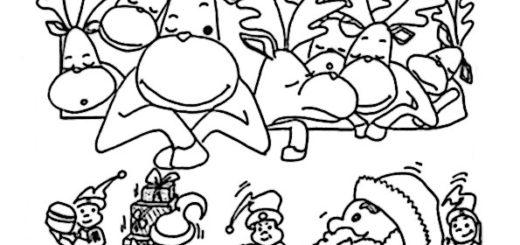 ausmalbilder weihnachtsmann-28