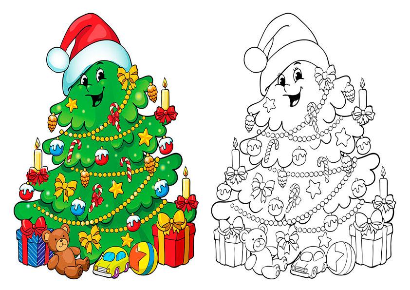 weihnachten malen modell-13